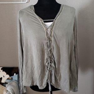 Coco  + Jaimeson rayon shirt
